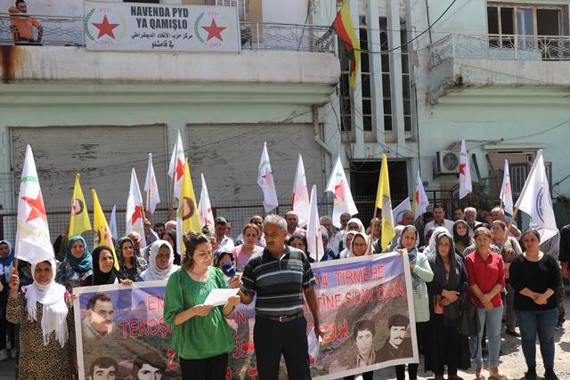 Photo of لجنة التنظيم في الـ PYD تستذكر مقاومة 14 تموز