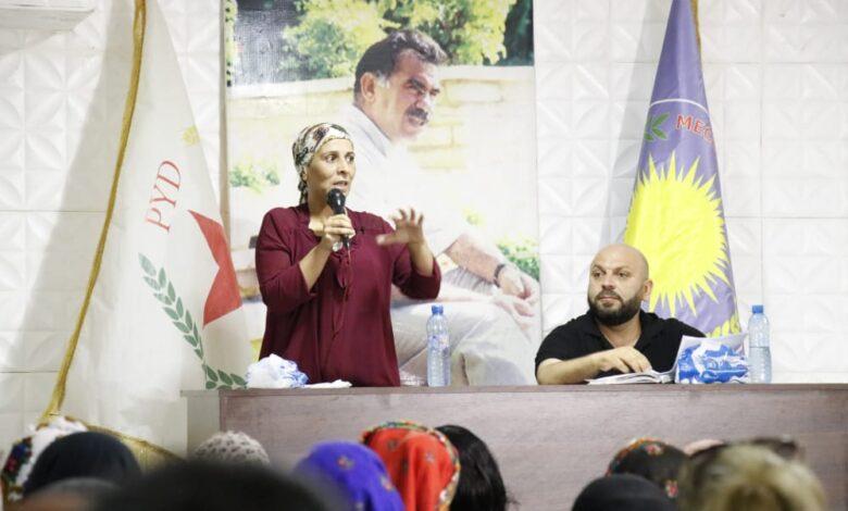 Photo of عائشة حسو: اعتقال رفاقنا في باشور محاولة لإفشال مسار الحوار
