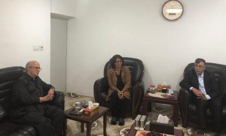 Photo of ممثلية حزبنا في باشور وحزب كوملا الكردي يشددان على ضرورة رص الصفوف