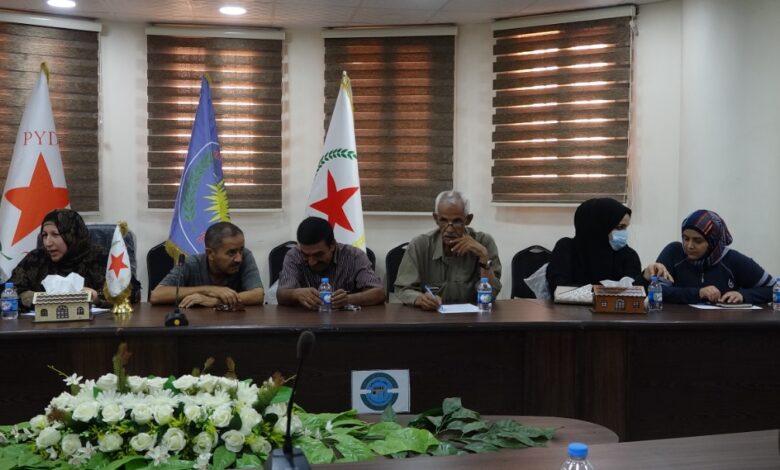 Photo of حزبنا ينظم ندوة حوارية في مدينة الرقة