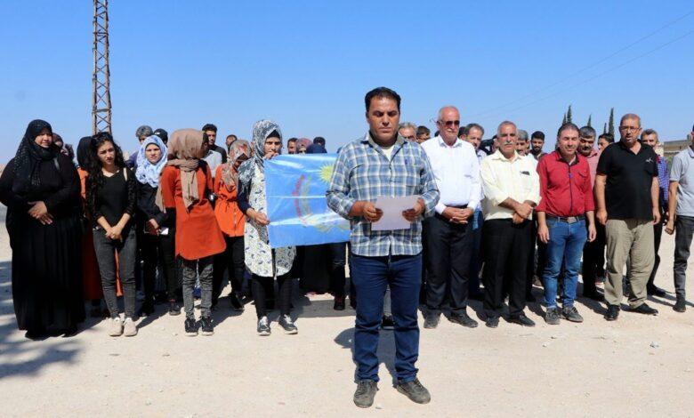 "Photo of ذوي ضحايا مجزرة ""كفر صغير"" يطالبون بمحاسبة مرتكبي المجزرة"