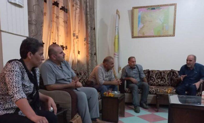 Photo of الرئاسة المشتركة لـ PYD تقوم بسلسلة زيارات في حلب