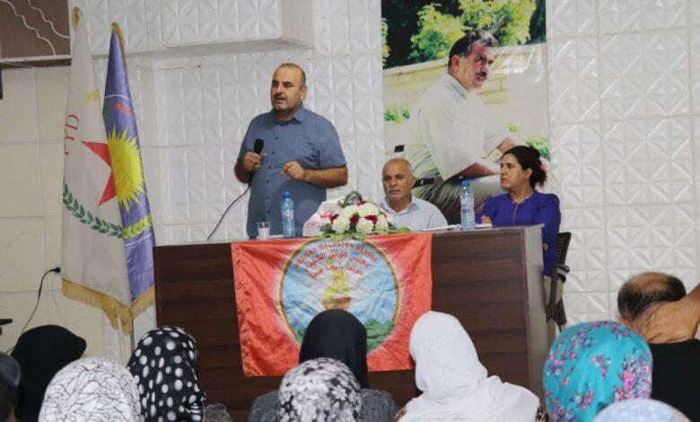 Photo of حزبنا يعقد اجتماعاً موسعاً لعوائل الشهداء في حلب