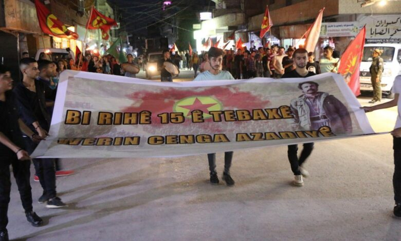 Photo of فعاليات ومسيرات بمناسبة حملة  15 آب لمقاومة الفاشية التركية