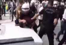 Photo of الشرطة التركية تقمع احتجاجات خرجت ضد الاعتداء العنصري على عائلة كردية بقونيا