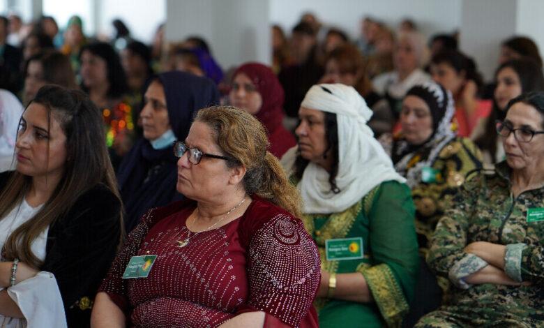 Photo of تأسيس مؤتمر نساء روج آفا في أوروبا Kongreya Star-Ewrûpa