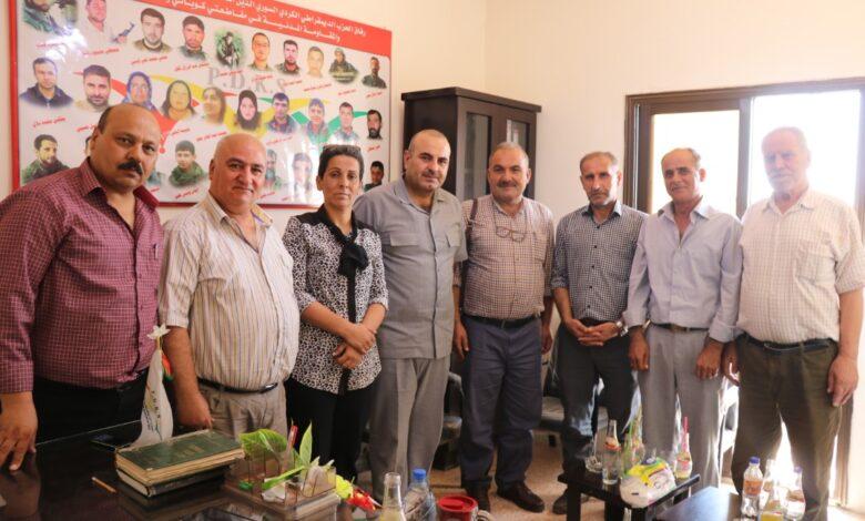 Photo of وفد من الـ PYD يزور مكتب حزب الديمقراطي الكردي السوري بحلب