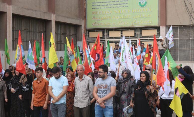 Photo of مؤسسات مقاطعة الحسكة تندد بالهجمات التركية على مناطق الدفاع المشروع