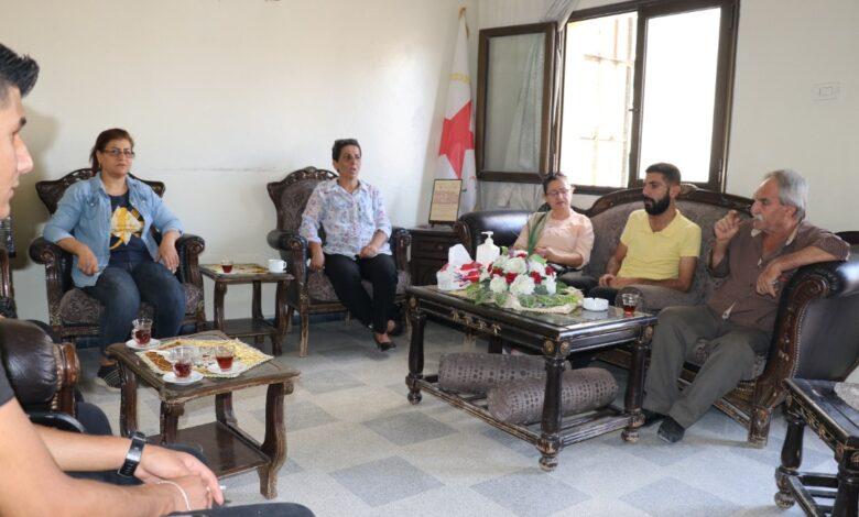 Photo of وفد من البيت الايزيدي يزور مكتب الـ PYD في حلب