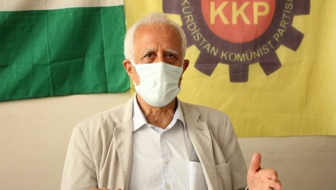 Photo of رئيس الحزب الشيوعي الكردستاني: روج آفا أساس تحقيق الوحدة الوطنية الكردية