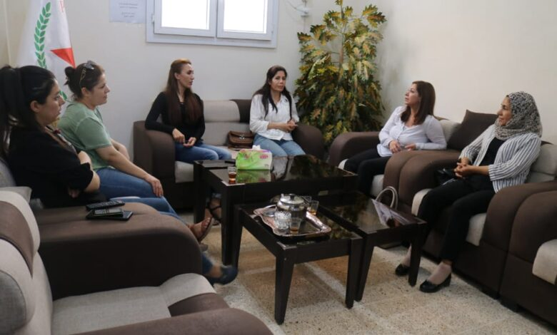 "Photo of وفد من مؤتمر ستار و""مسد"" في زيارة لمكتب الـ PYD بإقليم الفرات"