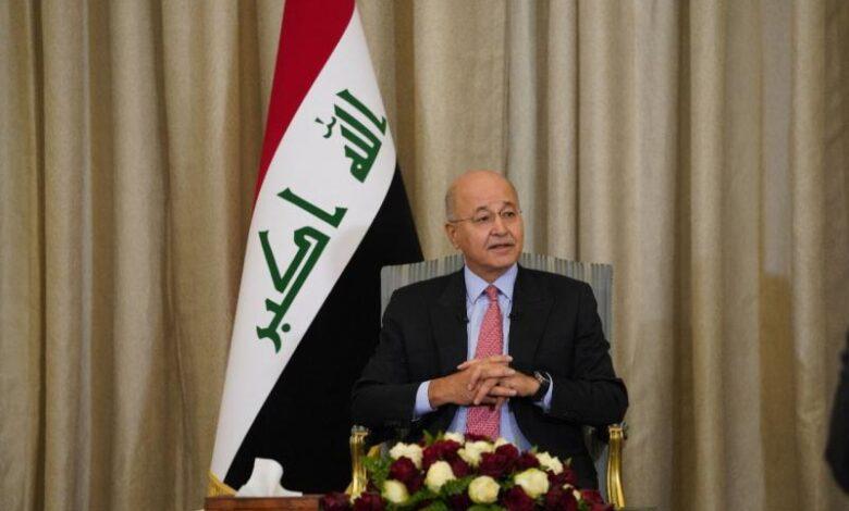 Photo of برهم صالح: التقيت مع بشار الأسد مؤخراً بخصوص العملية السياسية