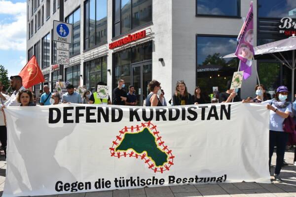 Photo of منظمة المظلة الكردية الأوربية الــ (KCDK-E) تدعو للتظاهر ضد الاحتلال التركي