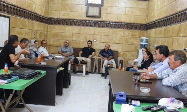 Photo of وفد من حزبنا يزور نقابة المحامين في إقليم الفرات