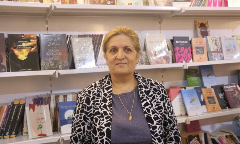 "Photo of عريفة بكر: فخر لي توقيع كتابي في معرض الشهيد ""هركول"""