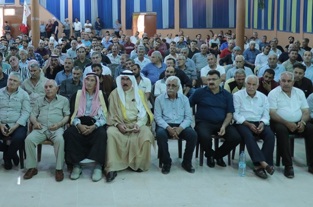 Photo of الـ PYD يعقد اجتماعاً تنظيمياً موسعاً لأعضائه في ناحية تربسبية