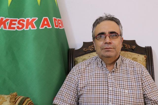 Photo of لقمان أحمي: تركيا تحاول الثأر لهزيمة داعش على يد قوات قسد