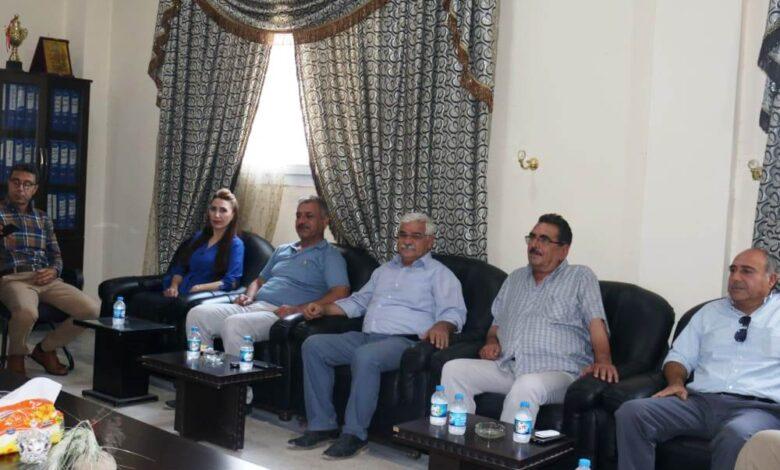 Photo of وفد من علاقات الـ PYD بإقليم الفرات يزور المجلس التنفيذي للإدارة الذاتية
