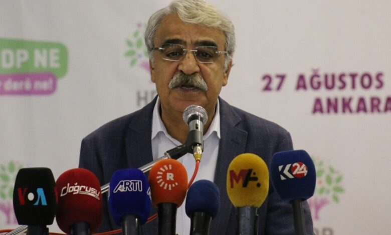 Photo of مدحت سنجار: حزب الشعوب الديمقراطي (HDP) سيكون قوة رئيسية في الانتخابات المقبلة