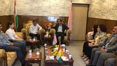 Photo of حزبنا والتقدميين الديمقراطي يؤكدان على أهمية التكاتف لحماية المكاسب الكردستانية
