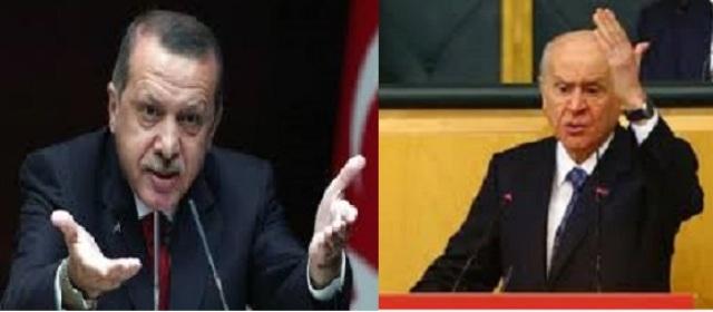 Photo of أردوغان يخطط لإزالة العلمانية وبهجلي يصفه بالمريض