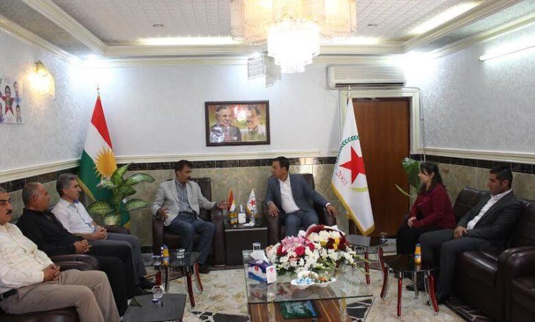 Photo of أحزاب ومنظمات كردستانية تهنئ حزبنا بميلاده الثامن عشر