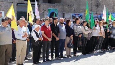 Photo of حزبنا يشارك بخيمة عزاء الشهداء بمدينة حلب