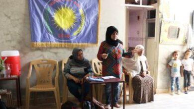 Photo of مجلس المرأة في حزبنا يعقد اجتماعاً للمرأة في إقليم الرقة