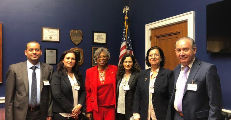 Photo of وفد الادارة الذاتية في واشنطن يجتمعون مع اعضاء من مجلس الشيوخ الأمريكي