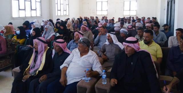 Photo of حزبنا يعقد اجتماعاً جماهيريا في ناحية العريشة