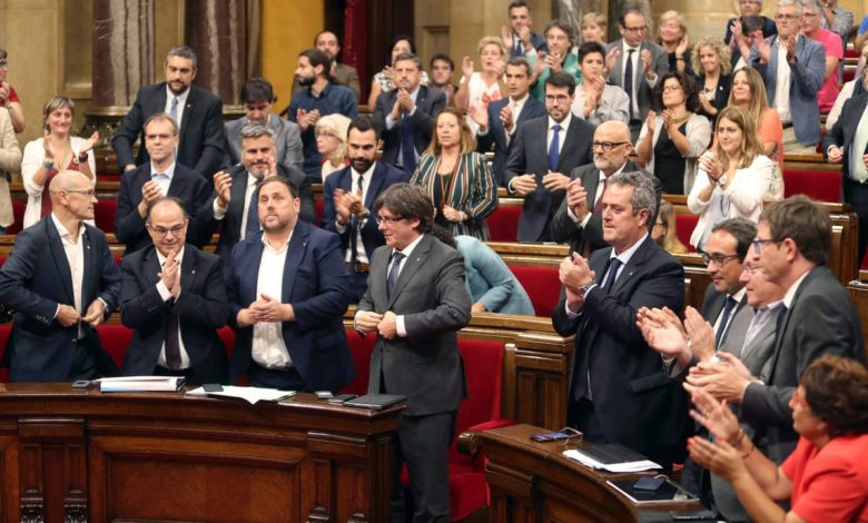 Photo of برلمان كاتالونيا يعترف رسمياً بالإدارة الذاتية لشمال وشرق سوريا