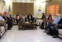 Photo of وفد من حزب التطوير والتغيير الوطني الديمقراطي يزور مركز الـ PYD بقامشلو