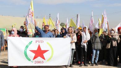 Photo of الـ PYD يشارك في خيمة الاعتصام بسيمالكا